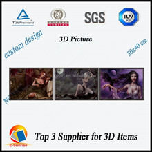 naked women pictures/3d lenticular images/home decoration pictures