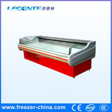 fresh meat showcase, flower freezer refrigerator meat display chiller
