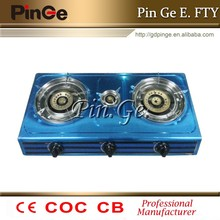 hot selling 3 burners S/S top gas stove/gas cooker/gas hob JHL.3-T016