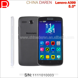 """Original Lenovo A399 Wholesale China Brand Phone WCDMA Unlocked 3G Smartphone 5.0"""" Android 4.4 Touch Phone"""