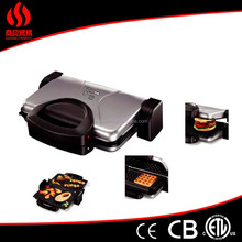 Fh-5031D 4 in 1 table top nonstick Sandwich maker/bbq grill/ Electric Contact Grill(CE CB EMC ERP)
