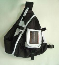 fashion solar rechargeable bag