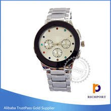Japan Movement Popular Quartz Stainless Steel Watches for men