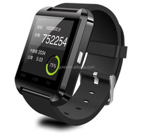 Nucleus O.S. smart watch mobile phone u8, hottest hand watch mobile phone watch bluetooth