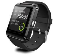 Nucleus O.S. smart watch mobile phone u8, hottest hand watch mobile phone watch bluetooth