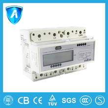 Manufacture for 10(40)a 35mm din-rail watt-hour meter