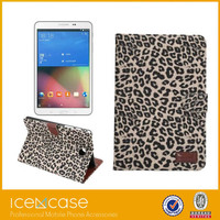 360 Degrees Rotating Stand PU Leather Case for galaxy Tab