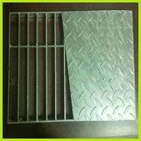 high quality galvanized expanded metal mesh drain grating cover