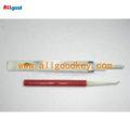 Allgood alta calidad lishi herramientas de cerrajería, toyota 2 pista lock pick, lock pick conjunto lishi