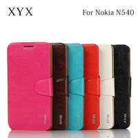 Best selling smart mobile phone accessories back flip case cover for nokia lumia 540
