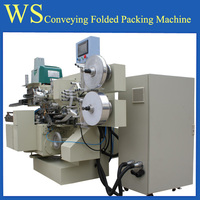 chocolate and candy folded package machine in Chengdu Wealthrise Complete Engneering Co.,Ltd
