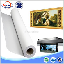 Water proof 100% Polyester fabric digital printing canvas roll