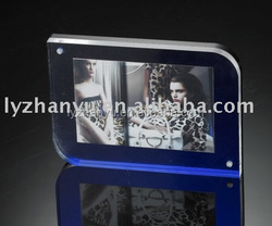 New Arrival Beautiful Deisgn Acrylic Photo Frame Made with Zhanyu Cast Acrylic Sheet