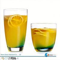 Sanzo Custom Glassware Manufacturer heat resistant drinking glasses