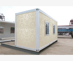 Economical Decorated in India homes container for living