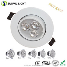 2015 hot sale 3w recessed led light downlight
