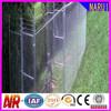 Ornamental Vinyl Coated Diamond Mesh Wiring Fence