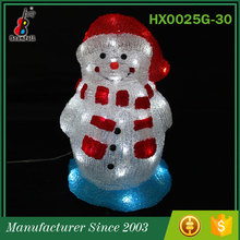 China Supplier Most popular Low price Wholesale led Snowman light ornament