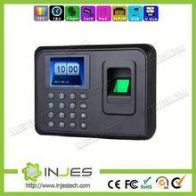 Desktop INJES Battery 600 users Free Software Fingerprint Time Attendance With Usb