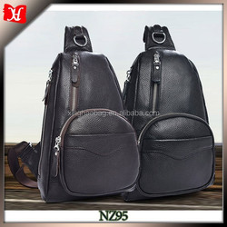 Fashion Designer Factory Wholesale Leather School Backpack waterproof golf bag