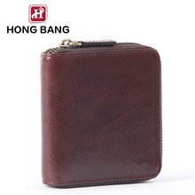 Men's fashion leather wallet with card holder money clip wallet leather