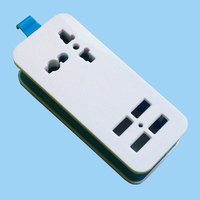 Convenience outlet electrical mini usb power extension socket