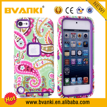 Wholesale Case Sublimation Universal Smart Phone Bumper Sublimation Tough For iPhone Cases For iPod Touch 5 Ultra Slim Case