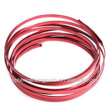 HSY coloured flat aluminum wire for crafts