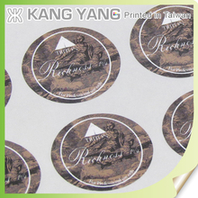 Printing classic and practical round envelope seal label stickers