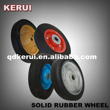 Solid rubber wheel for wheelbarrow solid tire