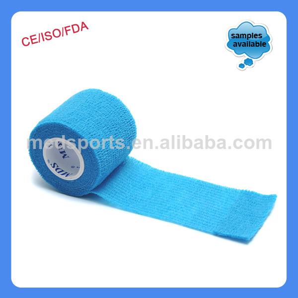 La herida en aerosol de color médica personalizada auto-adhesivo elástico vendaje
