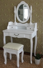 bedroom used dressing table wooden furniture, mirrored dresser