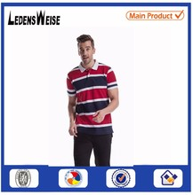 LEDENSWEISE breathable polo shirt with secondary colour high quality polo shirt