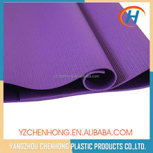 Body Building Products Durable Eco PVC Silk Screen Printing Yoga Mat