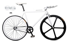 700c full carbon magnesium alloy front wheel single speed fixed gear bike professional Manufacturer