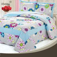 Lovely cute sunflower fantasy embroidery animal bedding set