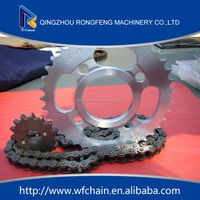sprocket 428H motorcycle chain bajaj discover chain sprocket