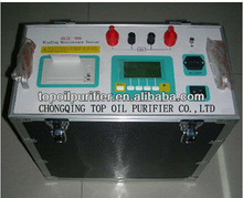 Series TPZC-40 electrical transformer windings resistance tester/meter,high-speed discharge circuits