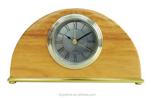 hotel home usage wooden decorative alarm clock
