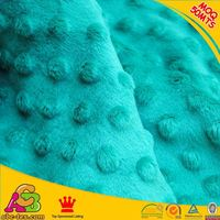 2015 new design high quality super soft Oeko-tex 100 and SGS minky smooth