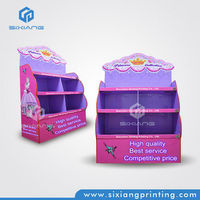 Color Printing Custom Supermarket Shelving Price Products Display Stand for Retail Store