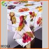 Flexible Plastic PVC Sheet Tablecloth Rolls with Fruit Design