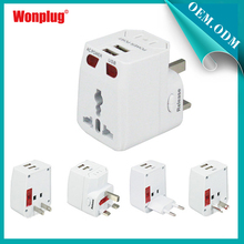 2014 Competitive Price 2.1 A Portable Wonplug patent cool applied power adapter for oppo