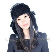 CX-C-39C Womens Faux Fur Aviator Hat Winter Hat