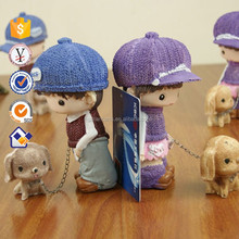 Cartoon doll lovers ornaments Fashion home gifts Craft ornaments Creative resin doll