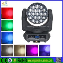 19X10W 4in1 RGBW led zoom beam moving head used in disco,party ,bar,ktv,concert or evening events zoom aura light