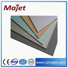 Alibaba China Changzhou factory Aluwecan Brand Aluminum Composite Panel / acp