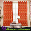 Burn-out Chinese Curtains Organza Fabric for Curtain