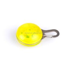 Pet Dog LED Flashing Drop Pendant Night Walk Dogs Safety Caution Glowing Hang Tag Light