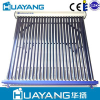 Solar keymark heat pipe solar water collector